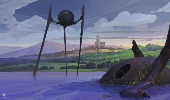 The Lake. And UFOs. And The Castle. by haryarti