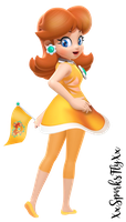 Princess Daisy by XxSparksFlyxX