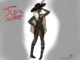 Tyra! Constest entry by CrazyCandyFoxy
