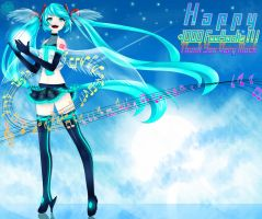 Virtual Angle : Miku by MRinkuChan