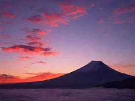 Fujisan by Art-in-Dreams
