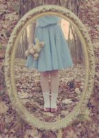 Childhood Reflection by pinkparis1233
