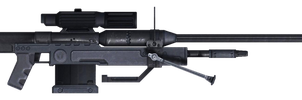 SRS99D-S2AM Sniper Rifle by ToraiinXamikaze