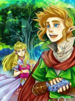 TLoZ Skyward Sword - The Beginnig by Rebe-chan-vk