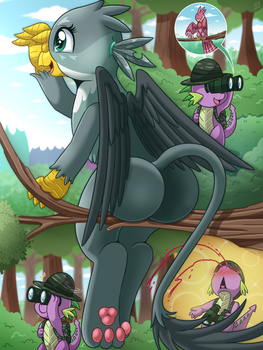 My Life As A Short Dragon 04 by vavacung