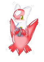 balloonie Latias challenging l by Wingfox