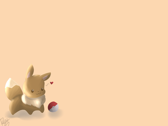 Eevee wallpaper by The-Henryverse