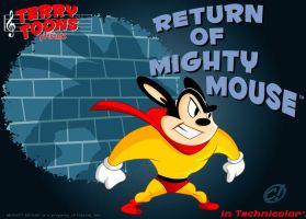 MIGHTY MOUSE 01 by CHUCKAMOKK