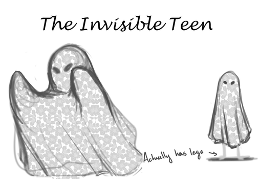 The Invisible Teen by Pandamunk