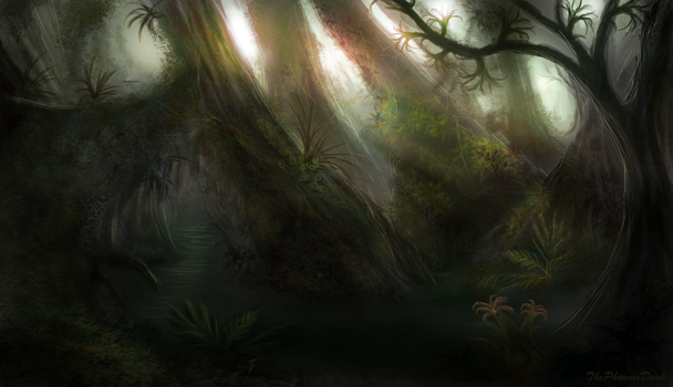 Murky Swamp by JKRoots