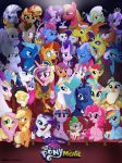 My Little Pony: the Movie (Fan Made Poster) by JustSomePainter11