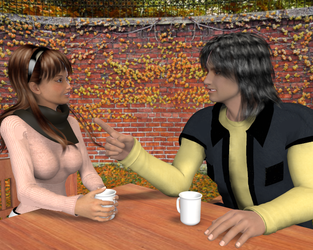 A Hot Coco Chat by gkinuwriter