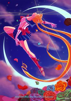 Sailor Moon!!! by norinoko