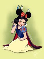 Mickey Ears - Snow White by DylanBonner