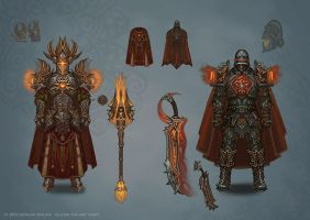 Paladin armor by Hellstern