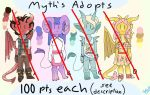 [CLOSED] Demon Adopt Batch #1 by Mythisawesome