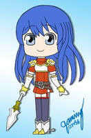 Fire Emblem Shadow Dragon *Caeda* by gaming123456