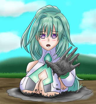 Vert (GreenHeart) in Quicksand by Lady-of-Mud
