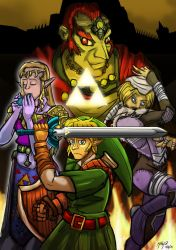 Commission :Zelda OOT Poster by MikeOrion