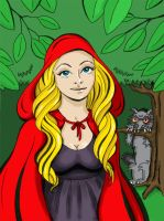 Little red riding hood by Kalliope69