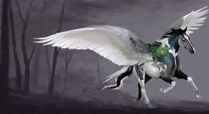 PigeonHorse by Sourful