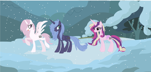 MLP AU: The Princesses by Ecoster1268