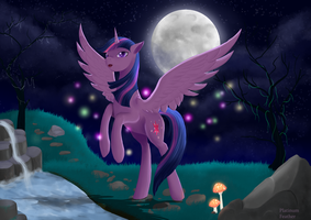 Twilight SPARKLES by PlatinumFeather2002