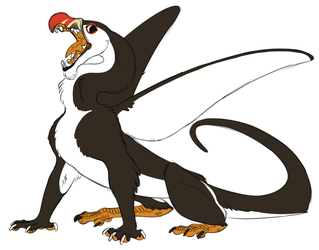 Griffon Character Design by Sketchmatters