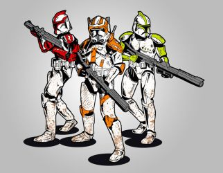Clonetroopers by Citizen1138