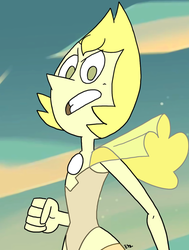 Steven Universe - Yellow Pearl 09 by theEyZmaster
