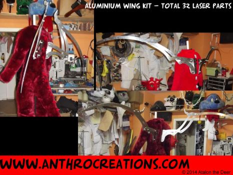 The Aluminium Dragon Wing Kit by AtalontheDeer