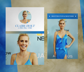Photopack 15462 - Claire Holt by southsidepngs