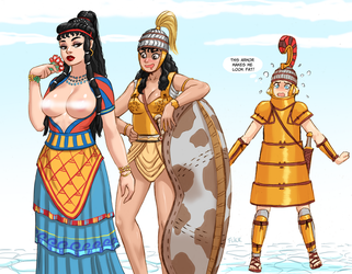 Aegean girls by Flick-the-Thief