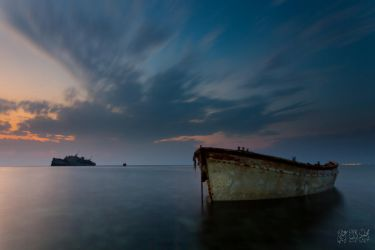 Two Boats III by mhmalali
