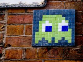 Space Invader - Green by pixelpixel