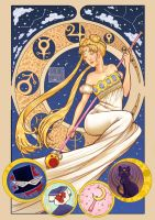 Queen Serenity by Onigiri-desu