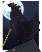 Shadow Knight - Fullbody Commission by lazy-Time