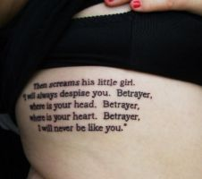 Quote Tattoo 2 by Kairy-Ma