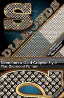 Diamond Gold Illustrator Style by gruberdesigns
