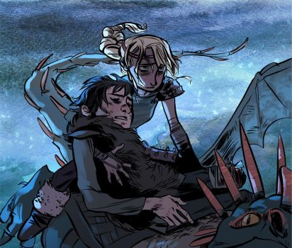Well, Most of him- by toerning