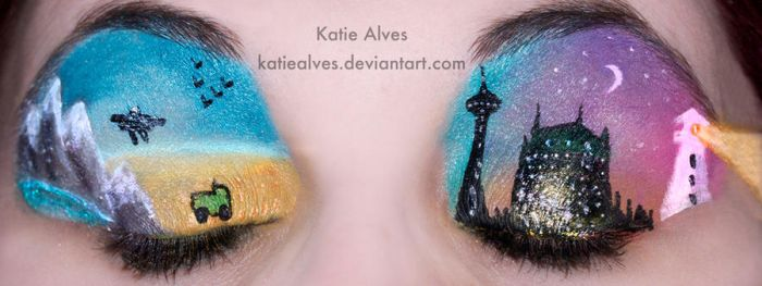 Canadian Eyes for CanadaAM by KatieAlves