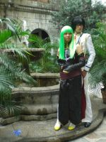 Cosplay: Lelouch and CC 4 by bloodyblue