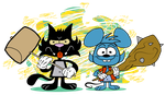 Itchy and Scratchy Vynl. by EeyorbStudios