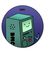 BMO Pin by BrittanysDesigns