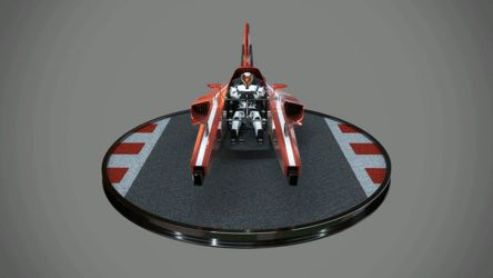 Futuristic Formula 1 Turntable by StormXF3