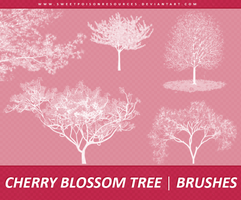 Cherry Blossom Tree | Brushes by sweetpoisonresources