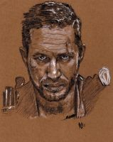Tom Hardy Mad Max by Gossamer1970