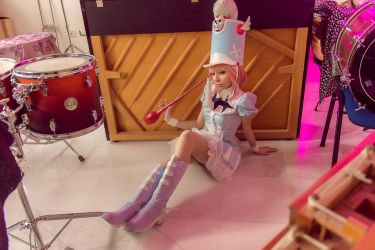 And the drums - Nonon Jakuzure Cosplay by MaySakaali