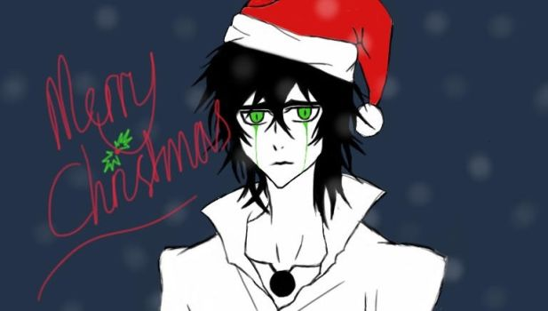 Bleach:: Santa Ulquiorra by MakeAWishJustLikeMe