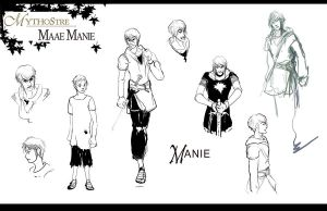 Mythostre: Maae Manie CS 2 by AM-Nyeht